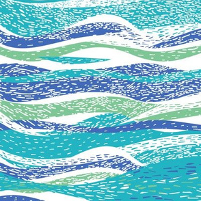 Abstract_hand-drawn_pattern_with_waves