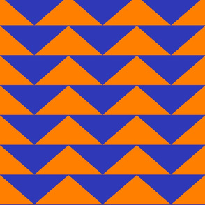 Crazy Orange and Blue