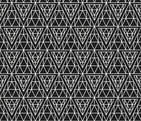 diamond_line fabric by holli_zollinger on Spoonflower - custom fabric