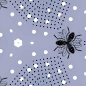 the flies sticks heads together