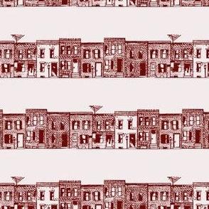 Rowhomes in Brick