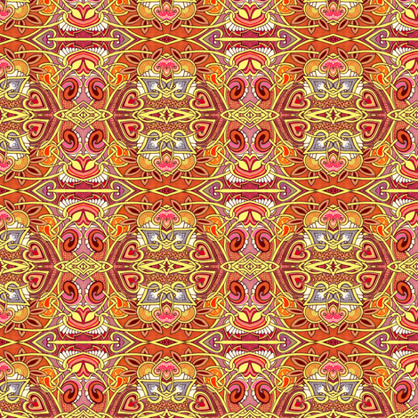 Neon Monkeyface Noon fabric by edsel2084 on Spoonflower - custom fabric