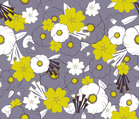 Dances and delight fabric by demouse on Spoonflower - custom fabric