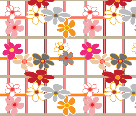 SOOBLOO_FLOWER_365TT-1-01 fabric by soobloo on Spoonflower - custom fabric