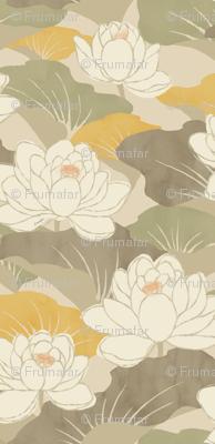 White Lotus - khaki -