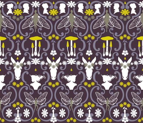 Midsummer Julie's Nights Dream fabric by juliesfabrics on Spoonflower - custom fabric