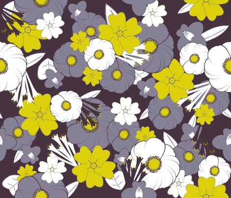 Midsummer night fabric by demouse on Spoonflower - custom fabric