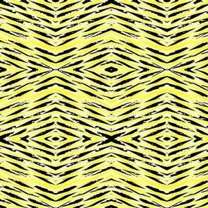yellow zig zag