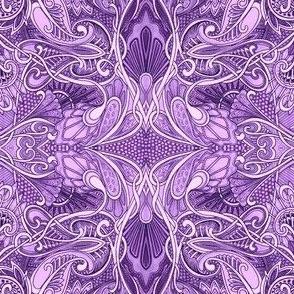 Undulating Purple Fantasy World