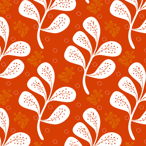 Cinnamon Flow fabric by brainsarepretty on Spoonflower - custom fabric
