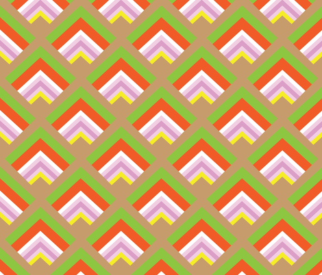 Sandwich Layers fabric by owlandchickadee on Spoonflower - custom fabric