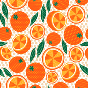Polka Dot Oranges