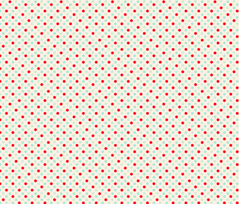Retro Polka Dots fabric by karenharveycox on Spoonflower - custom fabric