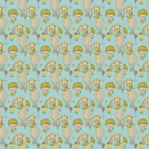 Airy Blue Circus