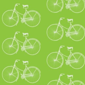 Lime Green Bikes