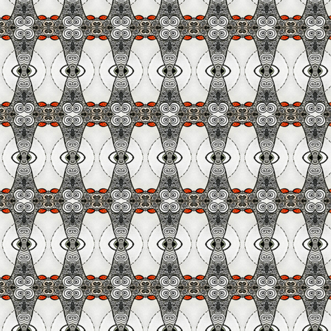 sheep eyes fabric by susiprint on Spoonflower - custom fabric