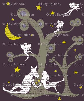 Midsummer nights dream silhouettes