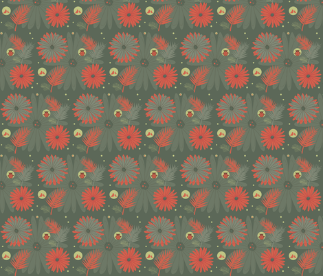 Garden fabric by novaform on Spoonflower - custom fabric