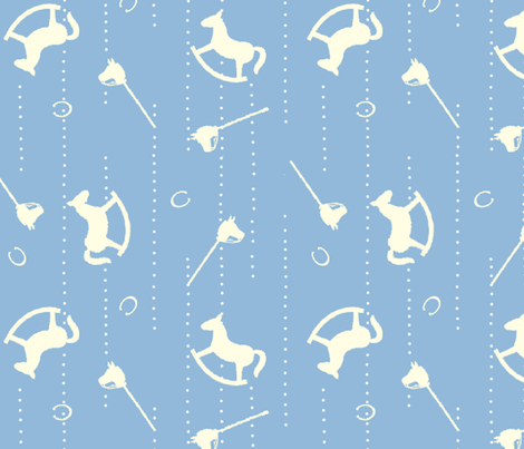 Horses_design fabric by aliza on Spoonflower - custom fabric
