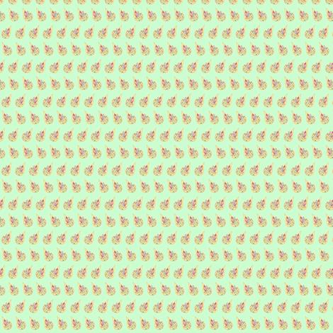 Tart Tangy Zany Juicy Drops of Lemony Goodess - Lime fabric by walkwithmagistudio on Spoonflower - custom fabric