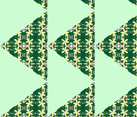 Diamonds of lemon blossoms - lime