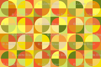 Circles of citrus