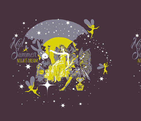 "midsummer nights dream 18""  fabric by paragonstudios on Spoonflower - custom fabric"
