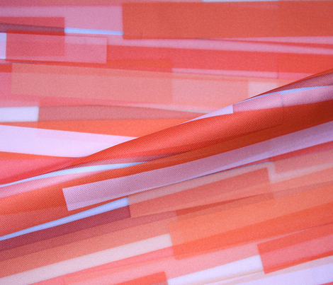 Stripes in coral