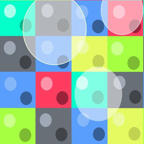 Charcoal Linen Dots