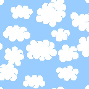 8bit clouds