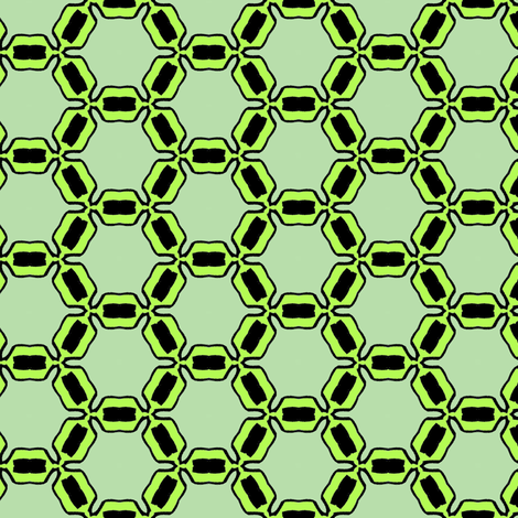 green basic regular, fabric by susiprint on Spoonflower - custom fabric