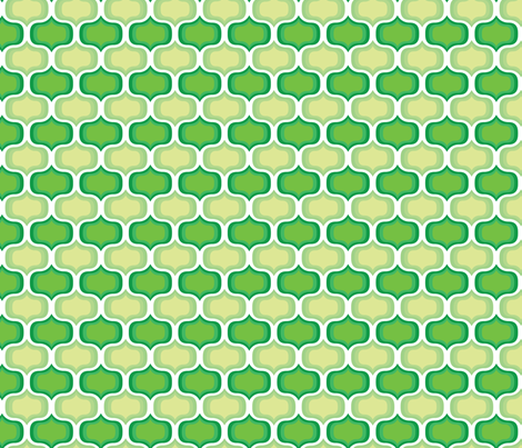 Green Onion fabric by happyprintsshop on Spoonflower - custom fabric