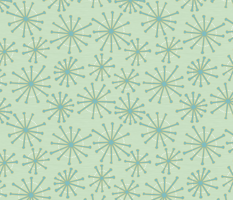 Springbursts fabric by melhales on Spoonflower - custom fabric