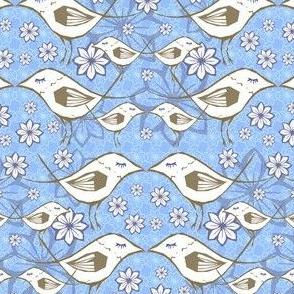 Serene sparrows