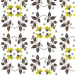 midsummer floral white