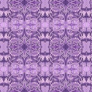 Little Purple Paisley Patch