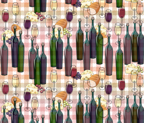 Zigzagfandel Picnic - synergy0003 fabric by glimmericks on Spoonflower - custom fabric