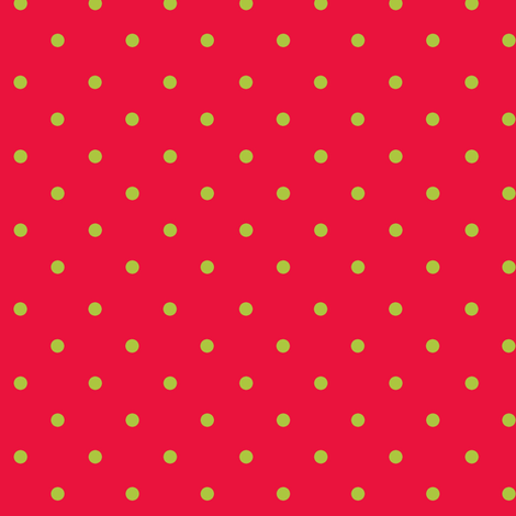 Scarlet Apple Dot fabric by kelly_a on Spoonflower - custom fabric