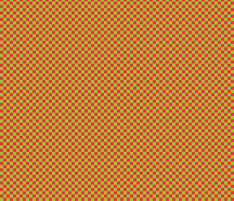 Scarlet & Apple Check fabric by kelly_a on Spoonflower - custom fabric