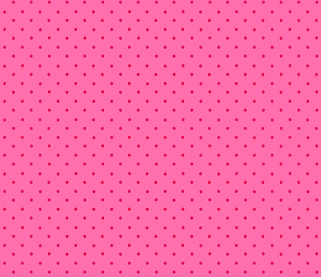 Victoria Pink & Red Dot fabric by kelly_a on Spoonflower - custom fabric