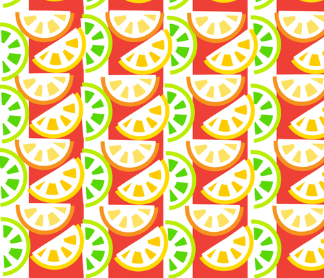 SOOBLOO_CITRUS_TOO-1-01 fabric by soobloo on Spoonflower - custom fabric
