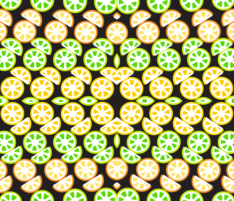 SOOBLOO_CITRUS-1-01 fabric by soobloo on Spoonflower - custom fabric