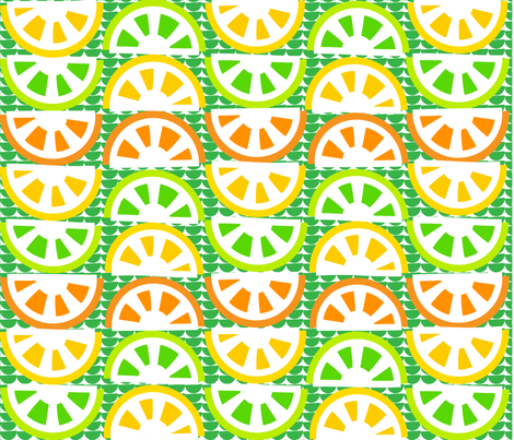 SOO_BLOO_CITRUS_FIVE-1-01 fabric by soobloo on Spoonflower - custom fabric