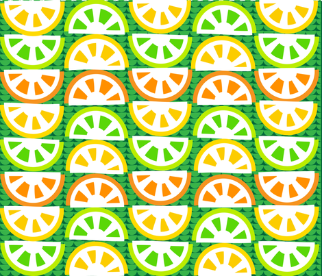 SOO_BLOO_CITRUS_FIVE-C-1-01 fabric by soobloo on Spoonflower - custom fabric