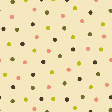 colored polka dots fabric by weavingmajor on Spoonflower - custom fabric