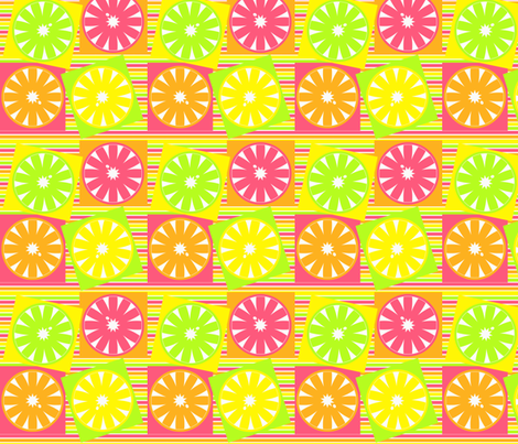 CITRUS fabric by mammajamma on Spoonflower - custom fabric