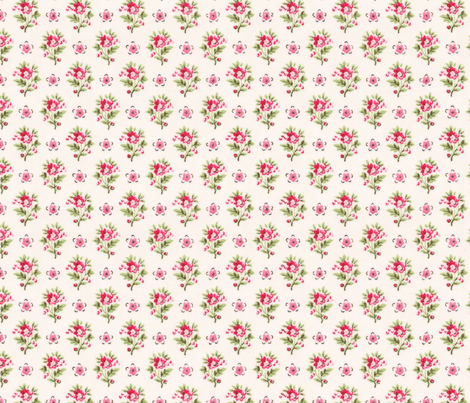 WallFlowers fabric by peagreengirl on Spoonflower - custom fabric