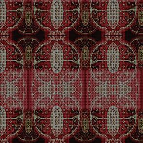 Pomegranate motif