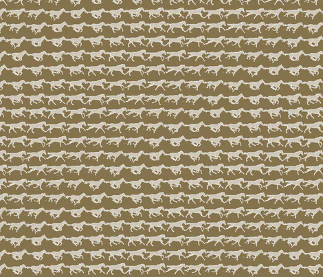 Stop-motion Horse Stripe fabric by byhelga on Spoonflower - custom fabric
