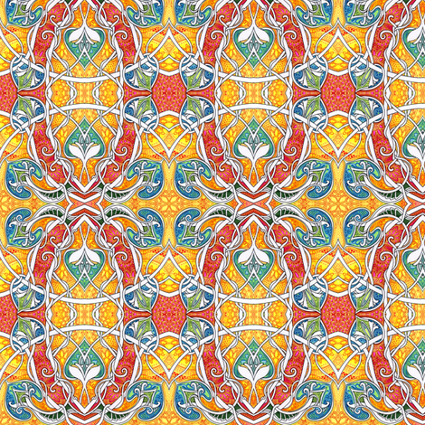 Sunshine Through My Window fabric by edsel2084 on Spoonflower - custom fabric